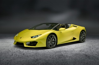 Lamborghini Huracán RWD Spyder - Leichtgewicht dank Allradverzicht
