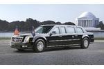 Neue Präsidentenlimousine der USA - Donald Number One - die rollend...