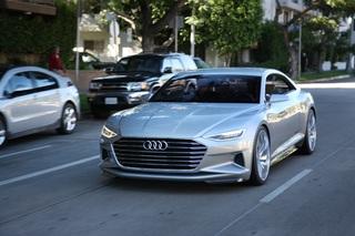Ausblick Audi A8 - Vorsprung durch Autonomie