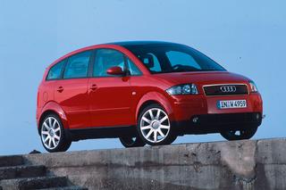 Audi A2 - Zuerst mit E-Antrieb