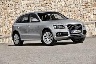 Audi Q5 hybrid - Grüner Anstrich (Kurzfassung)