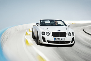 Bentley Continental Supersports Convertible: Atemberaubend (Kurzfas...