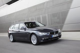 BMW 3er Touring - Blaulicht-Premiere für den neuen Kombi