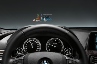BMW 3er - Head-up-Display als Option