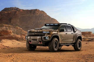Chevrolet Colorado ZH2 Fuel Cell - Alles nur Taktik