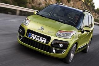Citroen C3 Picasso - Mini-Van stellt den Motor aus