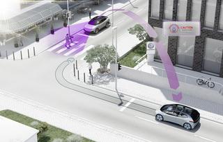 Intelligente Autos - VW lässt per WLAN kommunizieren