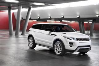 Range Rover Evoque - Range im Bonsai-Format