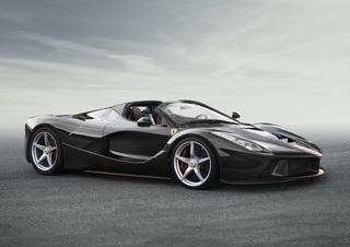 Ferrari LaFerrari Aperta - Offenes Geheimnis