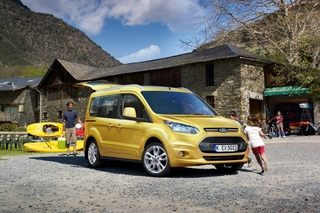 Ford Tourneo Connect - Für Kind und Kegel