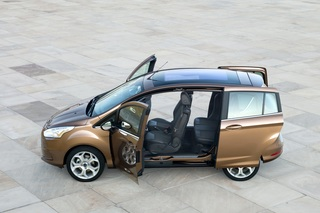 Ford B-Max - Offen wie ein Scheunentor