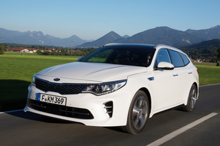 Test: Kia Optima SW GT - Kraft-Kombi