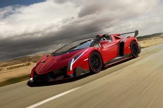 Lamborghini Veneno Roadster - Offenherziger Kampfstier