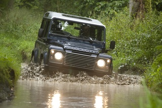 Land Rover Defender als Sondermodell - Rauer Name, weiche Sitze