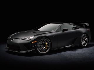 Lexus LFA - Rennstreckenpaket für Supersportwagen
