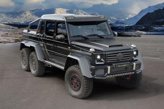 Mercedes G 63 AMG 6x6 Tuning - Wüstenmonster mit Rennsport-Genen