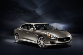 Maserati in Genf - Schön verpackt