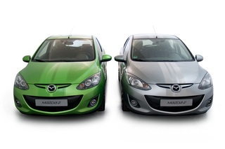 Mazda2 - Rallyestreifen für den Kleinwagen