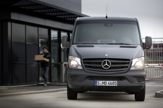 Mercedes-Benz Sprinter - Auch bei Sturm in der Spur