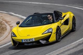 Fahrbericht: McLaren 570S Spider - British Open