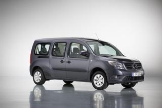 Mercedes Citan 7-Sitzer - Für zwei Passagiere mehr