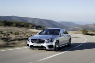 Mercedes S 63 AMG - Auf Wunsch auf allen Vieren