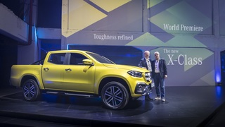 Mercedes X-Klasse - Pick-up mit Stern