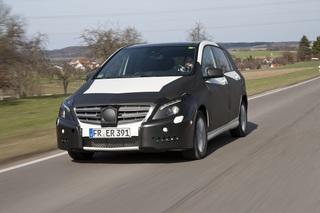Mercedes B-Klasse - Warm-Up für den neuen Stern in der Kompaktklasse