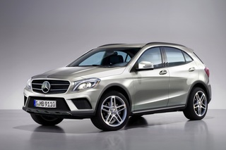 Mercedes GLA - Softroader aus Stuttgart