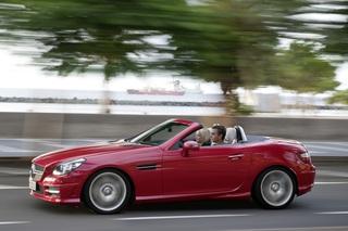 Mercedes-Benz SLK - Dritte Generation des Roadsters mit sparsameren...