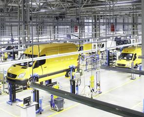 Mercedes Sprinter - Ab Werk mit Flüssiggas