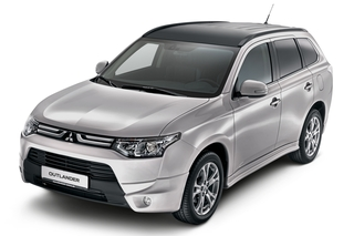 Mitsubishi Outlander Style Plus - Breiter aufgestellt