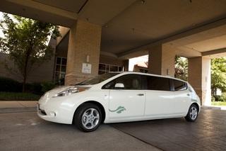 Elektro-Luxus - Nissan Leaf als Stretch-Limo