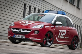 Kleiner Feuerwehr-Opel - Tatü-Tata, der Adam ist da