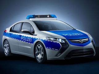 Opel Ampera - Unter Strom auf Streife