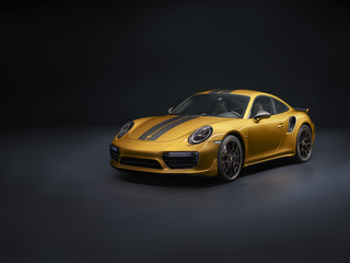 Porsche 911 Turbo S Exclusive Series - Seltenes Goldstück