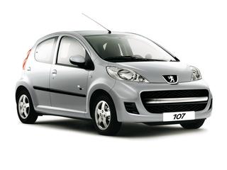 Peugeot veredelt 107 als Sondermodell Black & Silver Edition