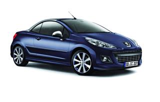 Peugeot 207 CC-Sondermodell - Oben Silber, unten Blau