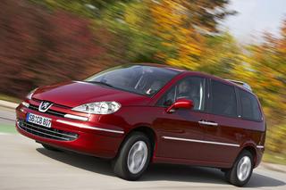 Peugeot 807: Neue Motoren, günstigerer Einstiegspreis