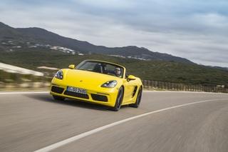 Fahrbericht: Porsche 718 Boxster - Flotter Vierer