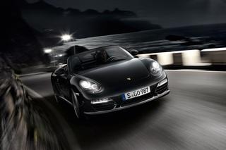 Porsche Boxster S Black Edition - Schwarz in schwarz