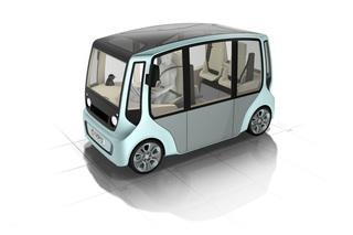 Rinspeed Micromax - Das Auto für Mitfahrer