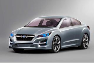 Subaru Impreza Concept - Kantig in Genf