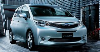 Subaru Trezia - Kleiner Van ab 16.200 Euro