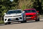 Camaro vs.Mustang: Fette V8-Amis imTest-Duell