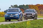 Ford Ranger vs. VWAmarok: V6-Diesel-Pickups imV...
