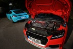 Audi TT RS, 718 Cayman S imTest: Fünfzylinder fertigt Vie...