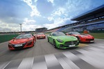 AMG GT R, Corvette, NSX und R8: Supersport-Showdown am Ring