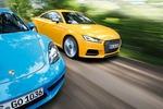 Audi TTS, Porsche 718 Cayman im Test: Bezwingt der TTS den Cayman?