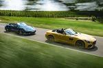 Test Mercedes-AMG GT C vs. Porsche 911: Wettstreit der Power-Cabrios
